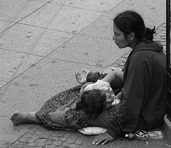 Blessed are the poor. The Kingdom of Heaven belongs to them.