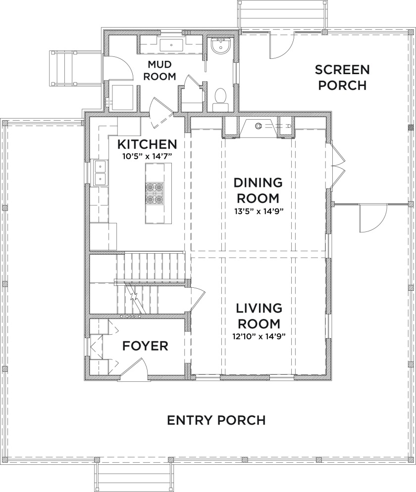 Prevenient Grace: the porch. Justifying Grace: the door. Sanctifying Grace: the exploration of the rooms of the house.